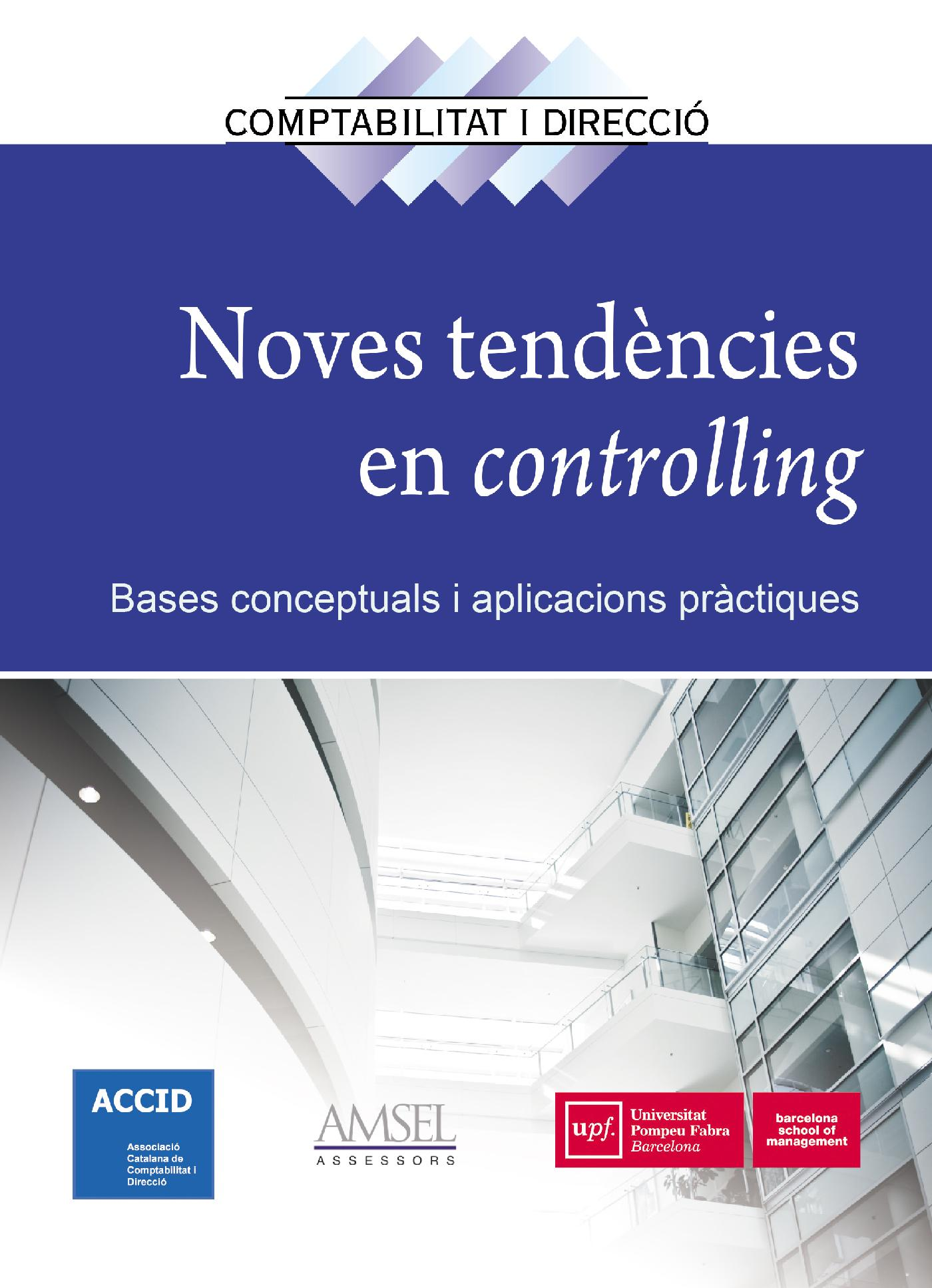 NOVES TENDENCIES EN CONTROLLING