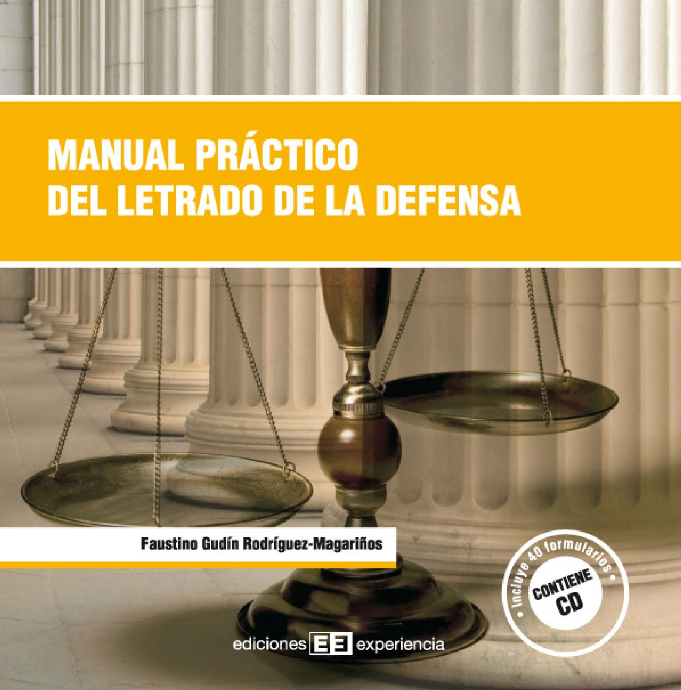 MANUAL PRÁCTICO DEL LETRADO DE LA DEFENSA